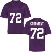 Game Men's T.J. Storment TCU Horned Frogs Purple Football College Jersey