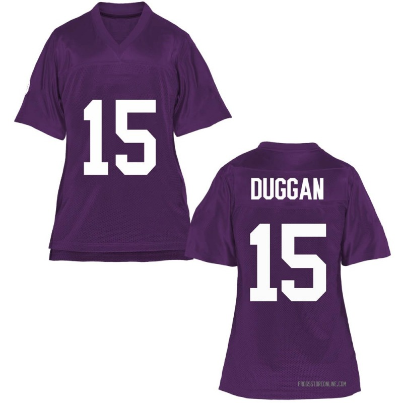 Game Women's Max Duggan TCU Horned Frogs Purple Football College Jersey