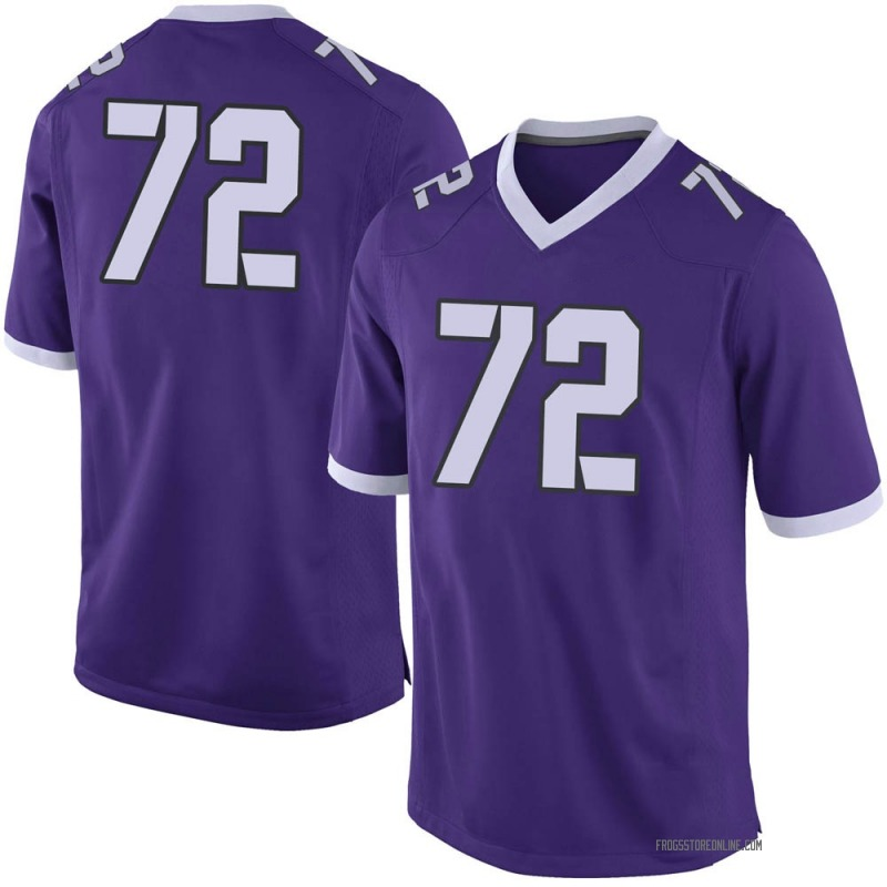 Limited Men's T.J. Storment TCU Horned Frogs Purple Football College Jersey