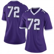 Limited Women's T.J. Storment TCU Horned Frogs Purple Football College Jersey