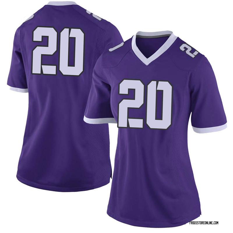 Limited Women's Zach Farrar TCU Horned Frogs Purple Football College Jersey